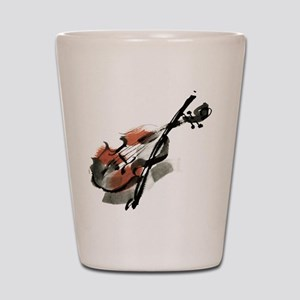 Violin Shot Glass